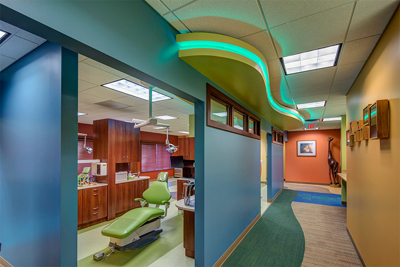 Exam room photo for Northern Michigan Pediatric Dentistry in Traverse City, MI