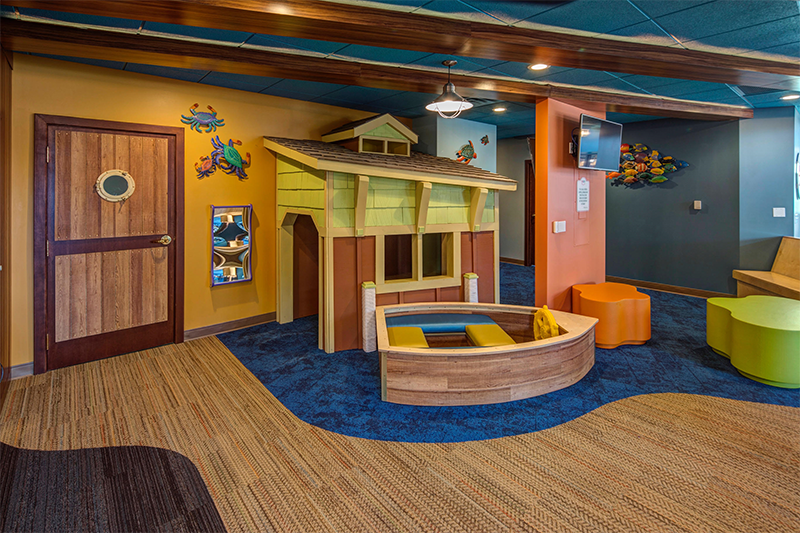 Kids play area photo for Northern Michigan Pediatric Dentistry in Traverse City, MI